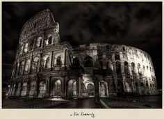 ancient rome in black and white