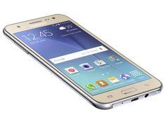 """Smartphone Samsung Galaxy J5 Duos 16GB Dual Chip - 4G Câm. 13MP + Selfie 5MP Flash Tela 5"""" Quad Core com as melhores condições você encontra no Magazine Fonsecadivulga. Confira!"""