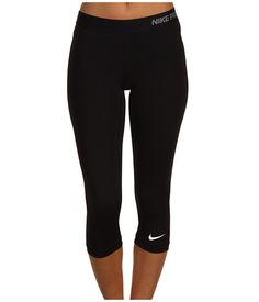 Nike Pro Core II Compression Capri Black - need knee length leggings that are thin, comfortable and good quality Nike Outfits, Sport Outfits, Casual Outfits, Workout Attire, Workout Wear, Workout Capris, Nike Workout, Workout Outfits, Workout Fitness
