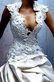 I've already had my wedding. But, THIS.IS.GORGEOUS ... can I just have it as a top?? St. Pucci, Candice Crawford's Wedding Dress