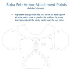 Armor Attachment Points To The Vest. 1200 x 1200 ( Boba Fett Armor, Boba Fett Cosplay, Boba Fett Costume, Mandalorian Cosplay, Halo Cosplay, Cosplay Armor, Cosplay Diy, Cosplay Costumes, Mandolorian Armor