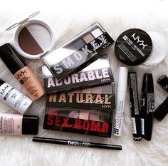 best of nyx Nyx Makeup, Makeup Kit, Love Makeup, Makeup Brushes, Hair Makeup, Makeup Products, Beauty Products, All Things Beauty, Beauty Make Up