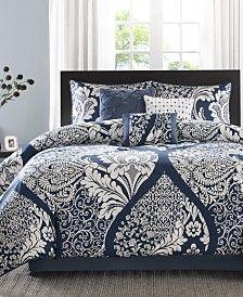 New bedroom neutral blue comforter Ideas King Duvet Cover Sets, Queen Bedding Sets, Queen Comforter Sets, Luxury Bedding Sets, Duvet Covers, Queen Duvet, Navy Blue Comforter Sets, Bedroom Comforter Sets, Blue Bedroom