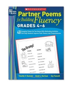 Partner poems for building fluency 40 engaging poems pinterest partner poems for building fluency grades 4 6 40 engaging poems for two voices with motivating activities that help students improve their fluency and fandeluxe Image collections