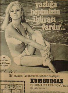 1968-69 yıllarında #İstanbul'a yakın ''yazlık'' kavramının moda olmaya başlaması ile ilgili bir afiş... #istanlook