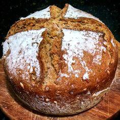 Produção da semana : Pão de centeio multigrãos