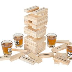 Drunken Tower Jenga games The Crab A Piece-Hot Drinking Games Bingo A Nice Christmas Gift - Night club party games - Wine games //Price: $53.42 & FREE Shipping //     #DRONE