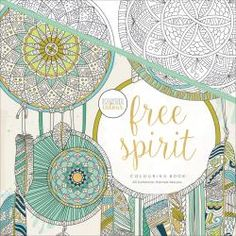 "Free Spirit-KaiserColour Perfect Bound Coloring Book 9.75""X9.75""  http://www.guidosprincess.com/coloring-pages/free-spirit-kaisercolour-perfect-bound-coloring-book-975x975"