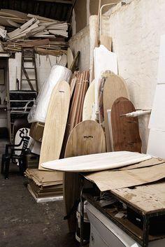 Help make a wooden surfboard at Wawa Wooden Surfboards workshop then buy it.