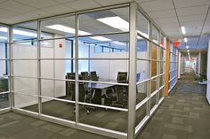 Modular Wall Systems | Cooper | DC's Leading Construction + Industrial Cooper Inc. - glass wall