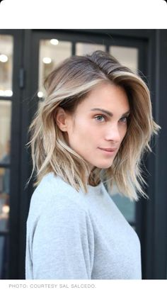 My hair cut inspiration photo, closest to the way my hair falls naturally. Same side part too.