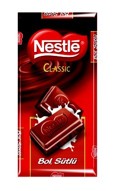 Nestlé Classic Bol Sütlü Çikolata