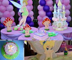 Ideias de Decoração para festa da Sininho - http://www.boloaniversario.com/ideias-decoracao-festa-da-sininho/