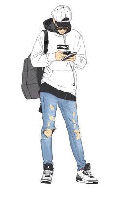 Dope Cartoons, Dope Cartoon Art, Cartoon Kunst, Anime Kunst, Anime Art, Cartoon Wallpaper Hd, Boys Wallpaper, Pop Art Images, Anime Boy Zeichnung