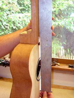Neckset ruler #luthier