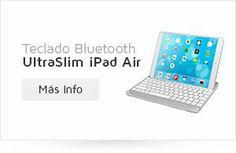 UNOTEC Teclado UltrSlim para Ipad Air. Funda y teclado todo en uno!