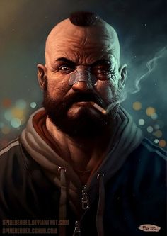 Zangief - Cool Digital Art by Filip Acovic