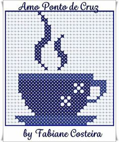 Drink cross stitch.