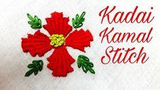 Kadai Kamal Stitch (Embroidery Work)