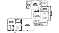 1000 images about dual living house on pinterest house for House plans with inlaw quarters
