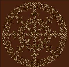 Kolam to draw rangoli designs tekenen Simple Rangoli Designs Images, Rangoli Designs Latest, Rangoli Border Designs, Rangoli Patterns, Rangoli Ideas, Rangoli Designs Diwali, Rangoli Designs With Dots, Kolam Rangoli, Rangoli With Dots
