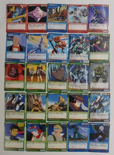 #Gundam Sunrise Crusade : 25 Japanese Trading Cards #TradingCards http://www.japanstuff.biz/