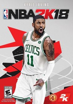 f2c7539bb07 The NBA2K18 cover has been officially updated! Kyrie Irving in his new  Celtics uniform!