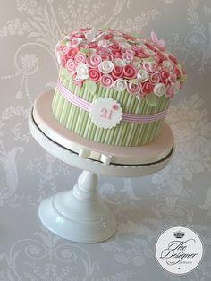 Rose bouquet cake | Flickr: Intercambio de fotos