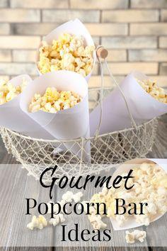 Gourmet Popcorn Bar Ideas