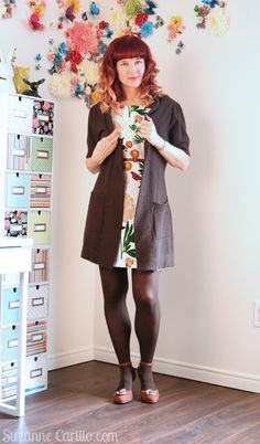 Help! My Dress Is Too Short! Over 40 fashion for the stylish woman.