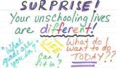 When Unschooling Children Discover Their Lives Are Unconventional || Living Joyfully