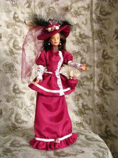 Victorian barbie ooak