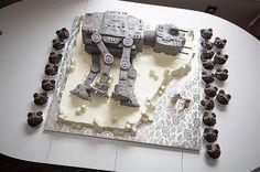 Star Wars AT-AT cake (no source at link though)