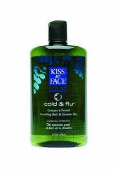 Amazon.com: Kiss My Face Cold & Flu Moisture Bath & Shower Gel, 16-Ounce Bottles (Pack of 3): Beauty