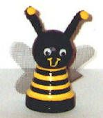 Clay Pot Bumble Bee Craft  How to Make a Bee Using a Clay Pot