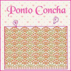 Croche -  Ponto  Concha