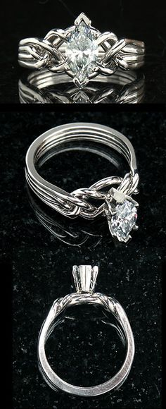 marquise diamond puzzle ring i love marquise diamond cut