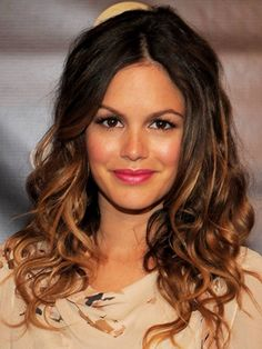 Rachel Bilson is a creative genius. All I wanted in High School was to be Summer Roberts....who didn't? She's still my icon, she rocks a sequin short with wedges and ray bans better than anyone I know. And to top it off....the inspiration behind my fav look ever: OMBRE Hair!