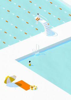 illustration frederic peault piscine.jpg - Frédéric PEAULT | Virginie