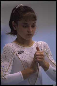 10 Oct 1995: Dominique Moceanu