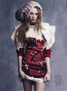 Holly Rose Emery for Vogue Australia August 2013 by Nicole Bentley