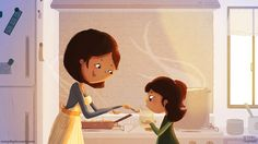 Mother's Day For Mom Mother Daughter Art Culinary por nidhi en Etsy