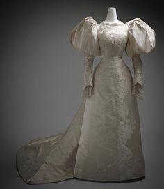 Charles Frederick Worth | Wedding Gown | c. 1896