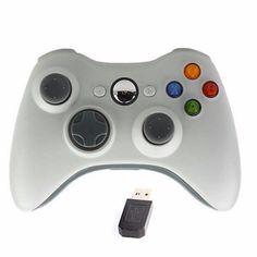 Controle Xbox 360 Sem Fio Wireless Usb Ps3/pc/android
