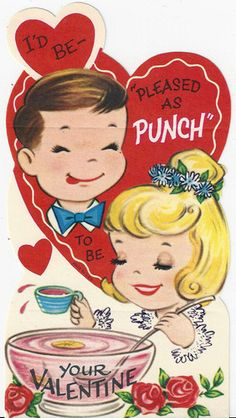 Punch-give  this out with a punch flavored drink.
