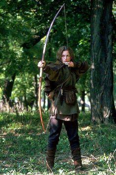 Definitely needs a bow&arrow or a sword...