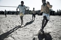 There are few things in life that know no boarders, no age limits, no race, no social class... football is one of those things. The one sport that speaks the language of the world.  Mark Lanning Photography Series