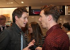 Ben and Eddie Redmayne attend the Variety Studio presented by Moroccanoil at Holt Renfrew during the 2014 Toronto International Film Festival on September 8, 2014 in Toronto, Canada