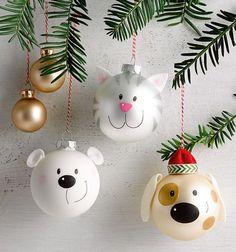 Charmante Figuren Aus Weihnachtskugeln Selbst Gestalten U0026 Niedliche  Adventsdeko Selber Basteln Mit Weihnachtskugeln Langweilige  Weihnachtskugeln War