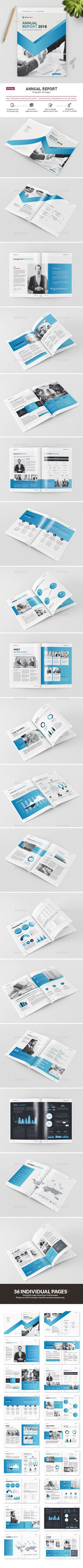 Annual Report 2018 - #Informational #Brochures Download here:  https://graphicriver.net/item/annual-report-2018/20073719?ref=alena994
